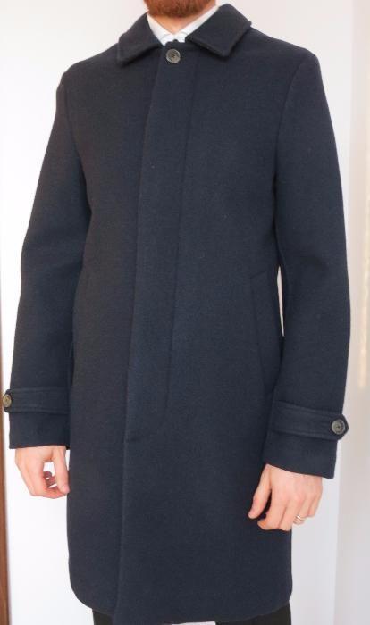 Palton de barbati englezesc CLOSED bluemarin mar. S