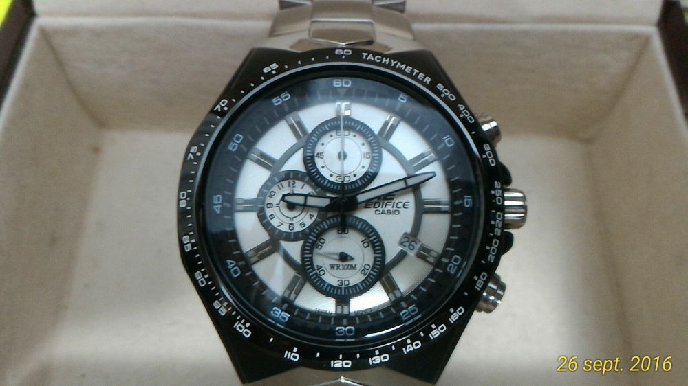 Ceas Casio Edifice Chronograph 534D-7AV