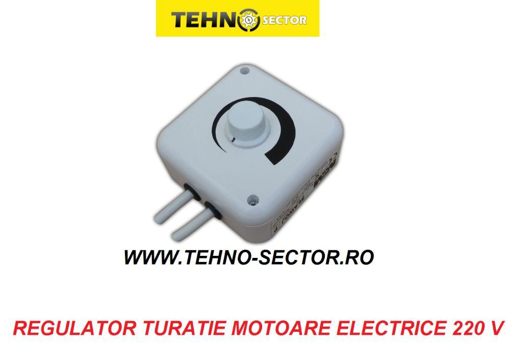 Regulator Turatie Motoare Electrice AC. Controller Viteza Ventilator