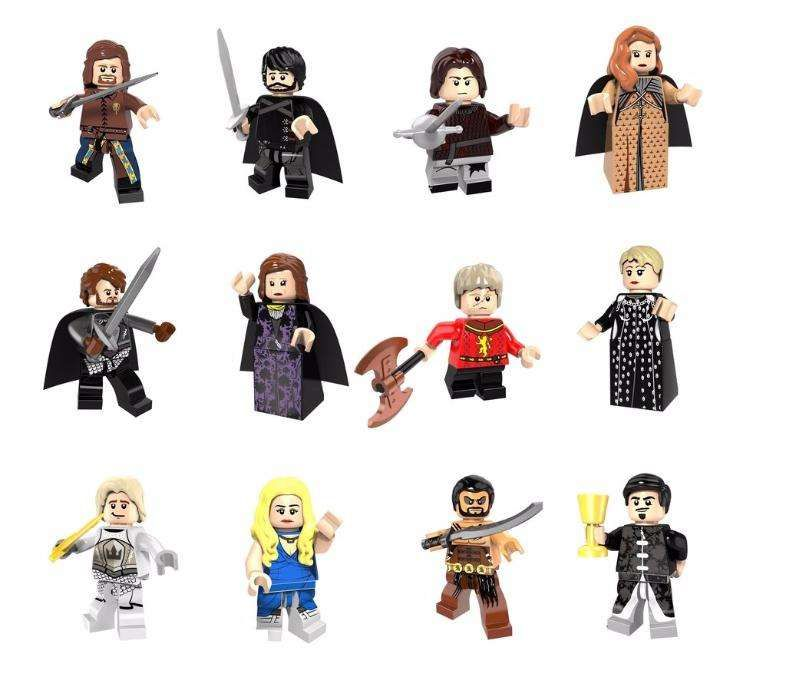 Minifigurine tip LEGO Game Of Thrones, Cersei, Tyrion, Ned Stark, NOI