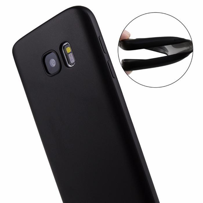 Samsung Galaxy S6 S6 Edge S7 S7 EDGE Husa Slim 0.3mm Neagra Silicon