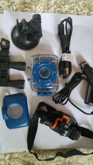 Camera video auto sau pt casca