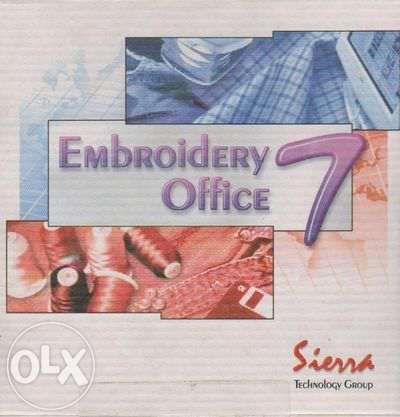 Продавам оригинална Sierra Embroidery Office 7 Hard key