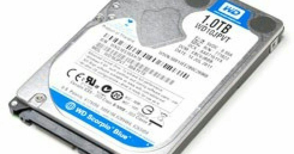Disco duro interno de 1TB pra notebook