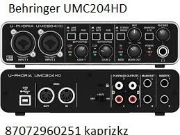 звуковая карта Behringer U-Phoria UMС204