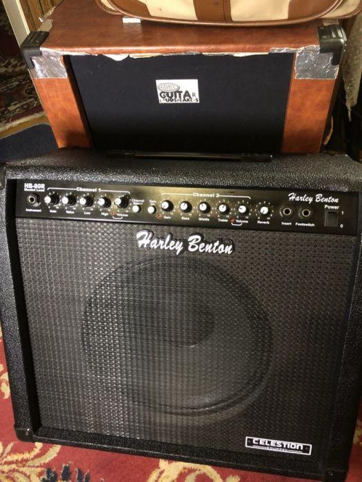Vand statie de chitara Harley Benton model HB 80R Mosfet Lead