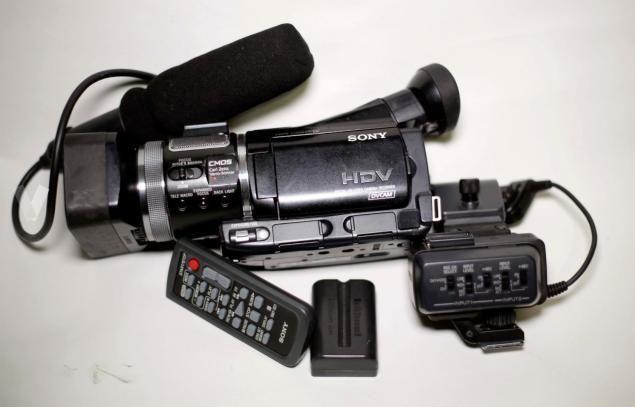 Vănd cameră video model SONY HVR-A1E