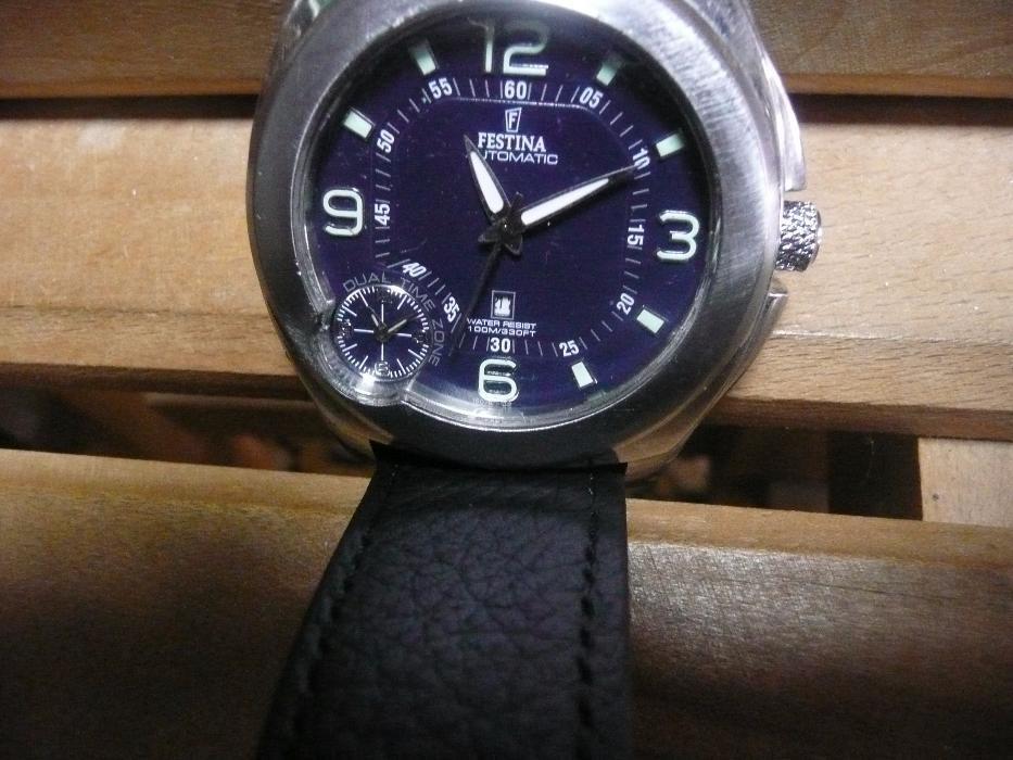ceas automatic-FESTINA-original-dual time