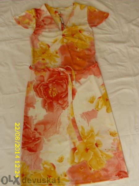 Маркова флорална рокля