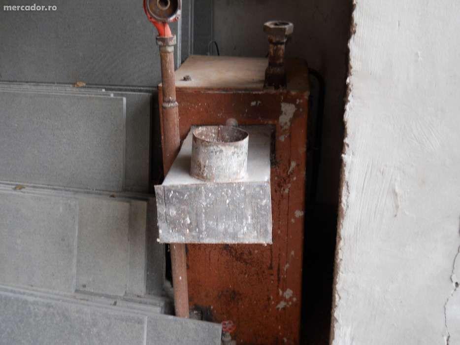 cazan centrala termica lemne, combustibil solid si gaz.