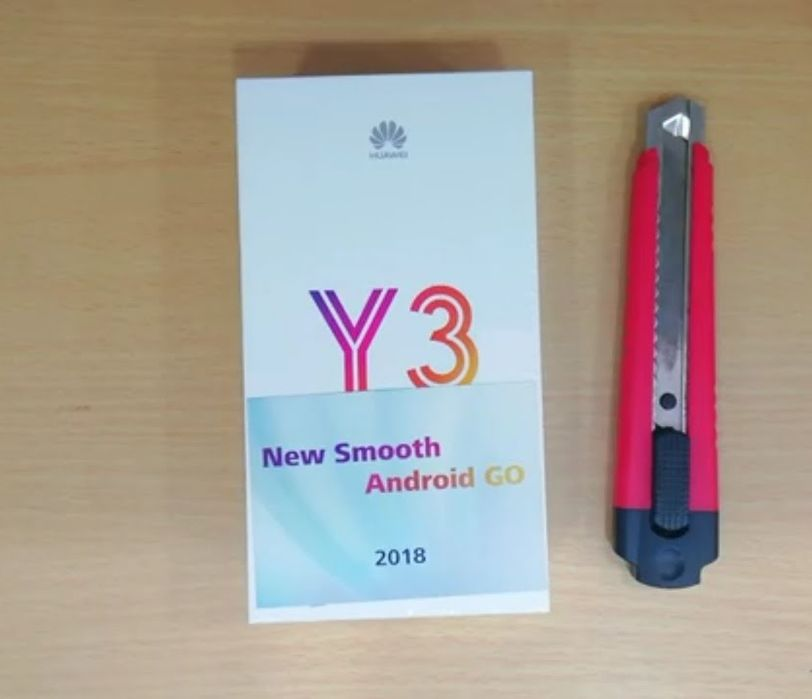 Huawei y3 2018 Novo na caixa