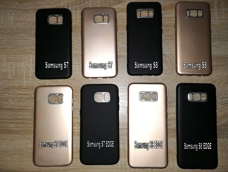 Husa carcasa Samsung Galaxy S7, S8, S7 EDGE, S8 EDGE silicon