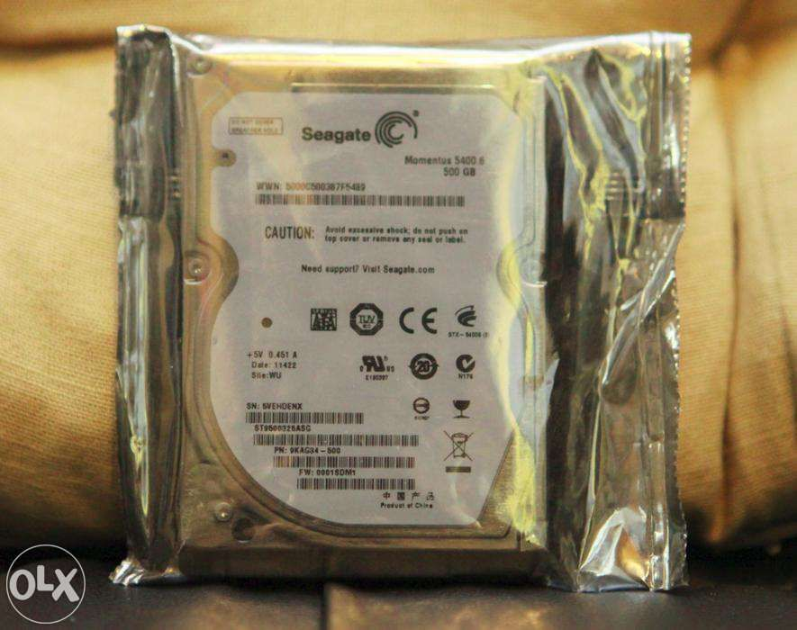 Hard Disk Laptop Seagate 500GB