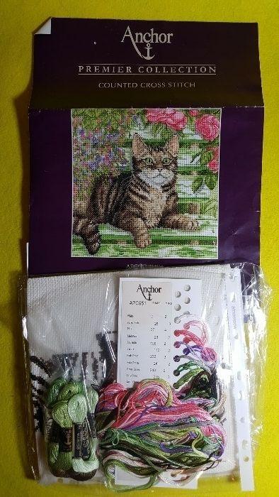 goblen pisica inceput ( kit)