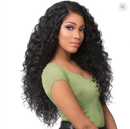 Peruca Full Lace Onda Solta de cabelo humano brasileiro