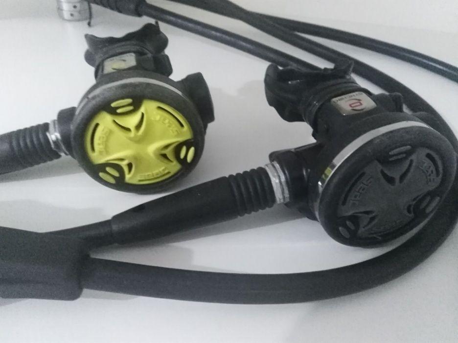 Regulador mergulho com sistema DIN