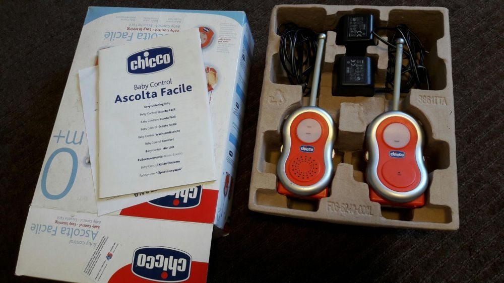Interfon Chicco Baby Control Easy Listening