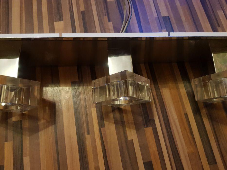 Осветително тяло за таван СПОТ 3-КА DIAMOND 4 ХРОМ/МАТ ХРОМ