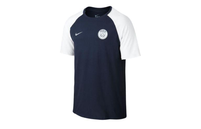 Tricou Nike Paris, Albastru/Alb, XL -> NOU, SIGILAT, eticheta