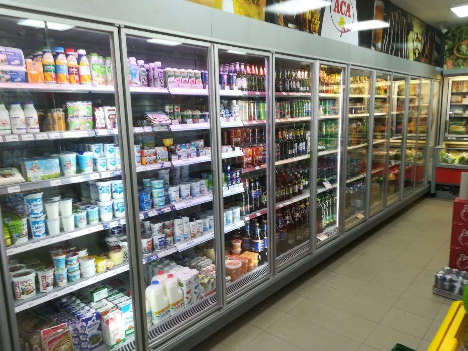 Rafturi frigorifice pentru magazin sau supermarket