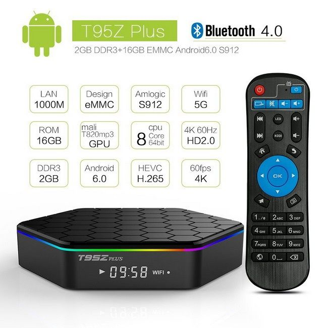 Android TV Box, Смарт ТВ, ТВ приставка на андройде +900 беспл. каналов