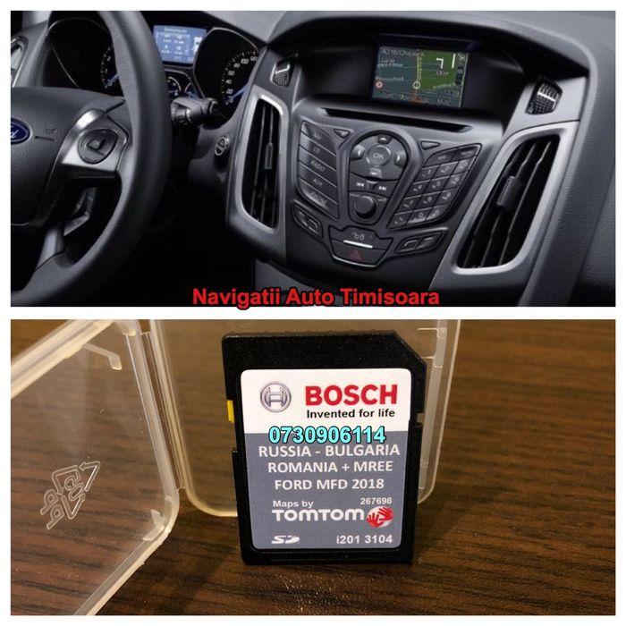 Actualizare Harti 2018 FORD MFD MCA ROMANIA Focus Kuga Fiesta TRANSIT