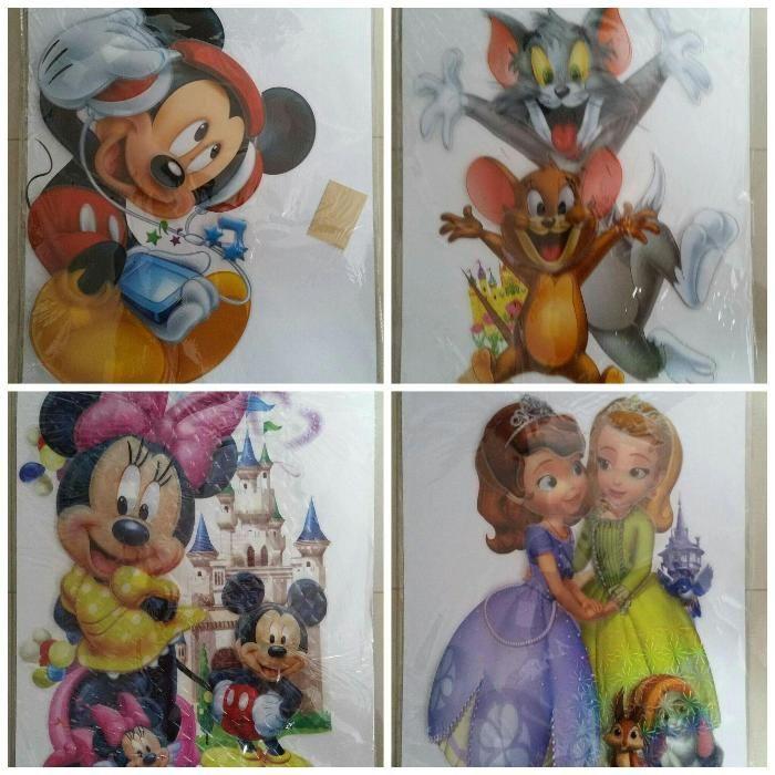 Stiker camera copii Mickey Mouse Cars Tom&Jerry Batman Spiderman Elsa