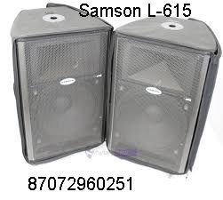 !ПРОДАМ активные колонки Samson L-615 (аренда)