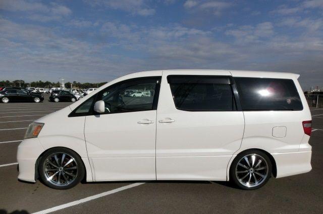Toyota Alphard Recém Chegado Aproveita