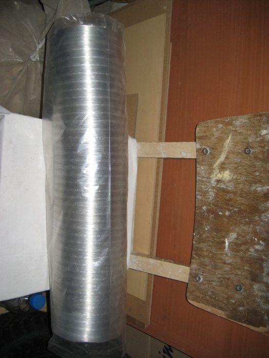 Алуминиев въздуховод за аспиратор ширм