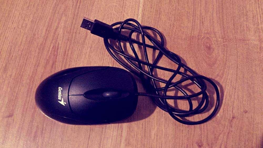 Mouse optic USB cu cablu Genius