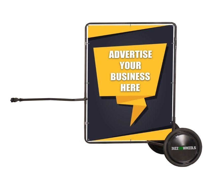 Panou publicitar mobil