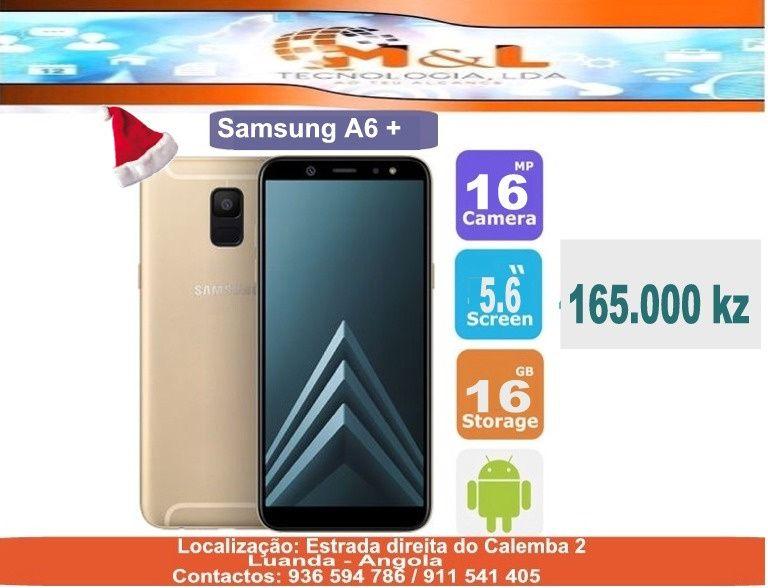 Telemóvel Samsung A6+ Novo original