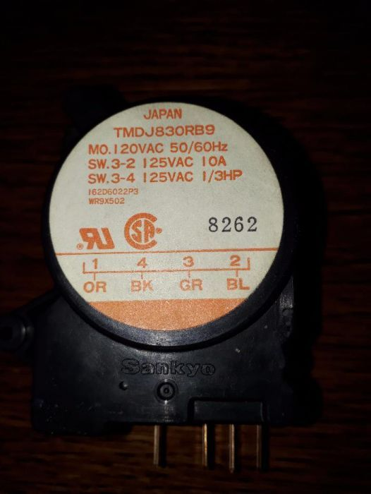 timer frigider no frost general electric 110 V