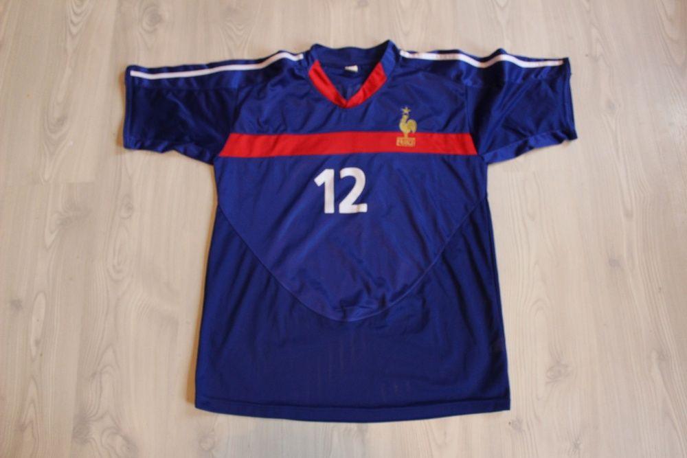 Tricou fotbal FRANTA, original, marime L-XL, ca NOU