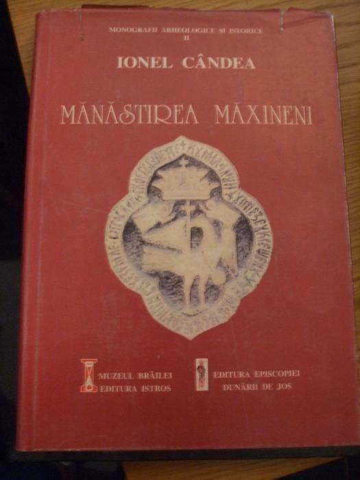 MANASTIREA MAXINENI - Ionel Candea - Muzeul Braila, 1996