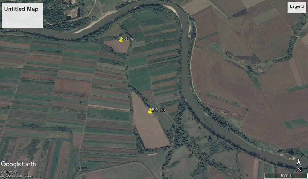 teren agricol 14.3 ha ususau