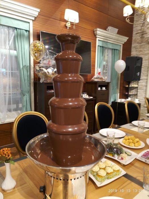 шоколадный фонтан 5ти ярусный