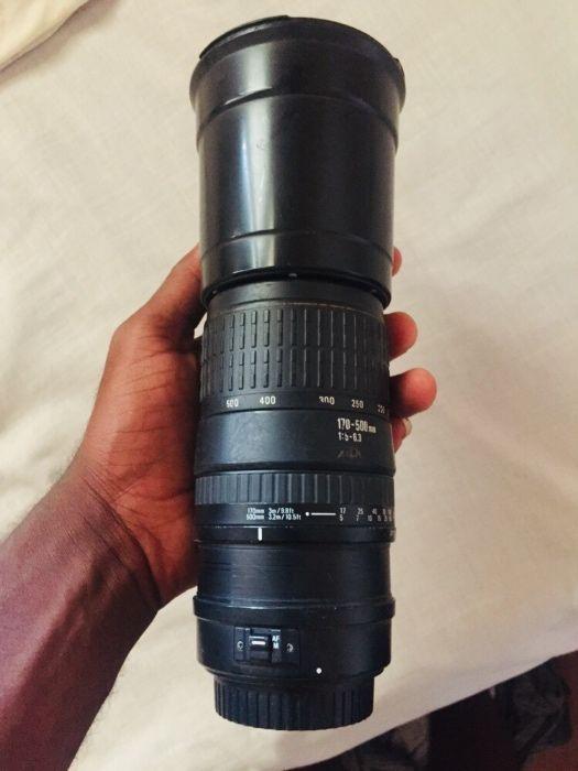 Vendo lente 170-500mm