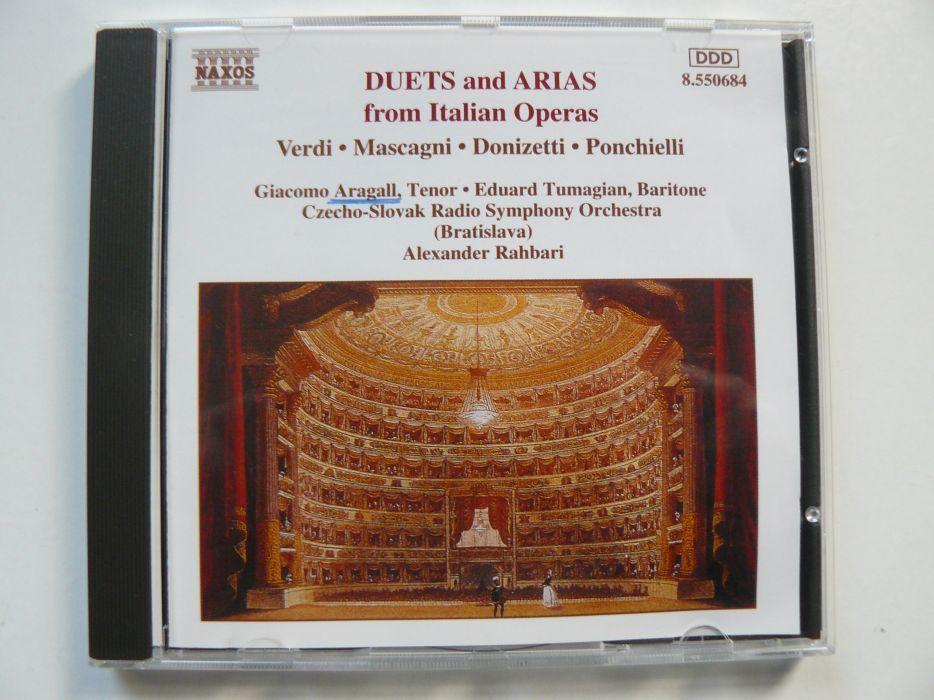 CD Cu Duete Si Arii Din Renumite Opere Italiene,Original,Impecabil