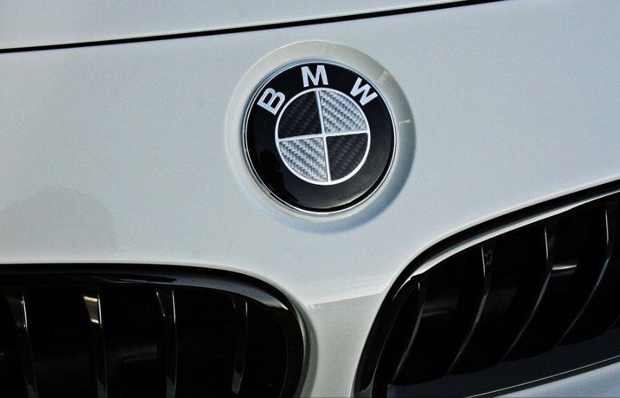 Emblema Logo capota portbagaj BMW Carbon 82mm E90 E92 F10 F01 F30 E46