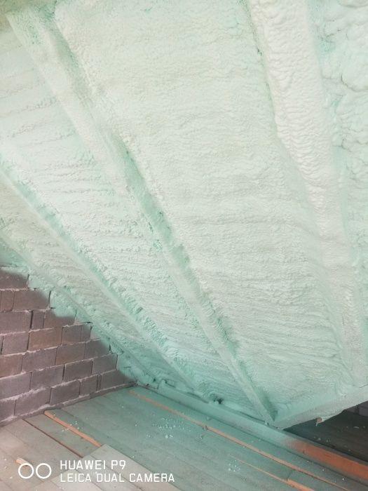 Izolații cu spuma poliuretanică și poliuree