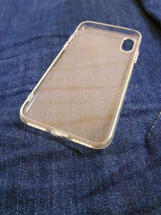 Husa silicon iPhone X - transparenta (slim)