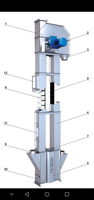 Элеватор вертикальный мкпп на транспортер б у