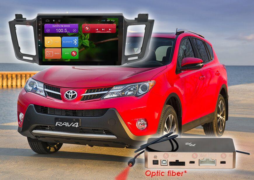 Автомагнитола на Андроиде для Toyota Алматы RedPower/DSK