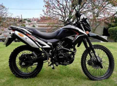 Moto big boy 250 manual agasolina