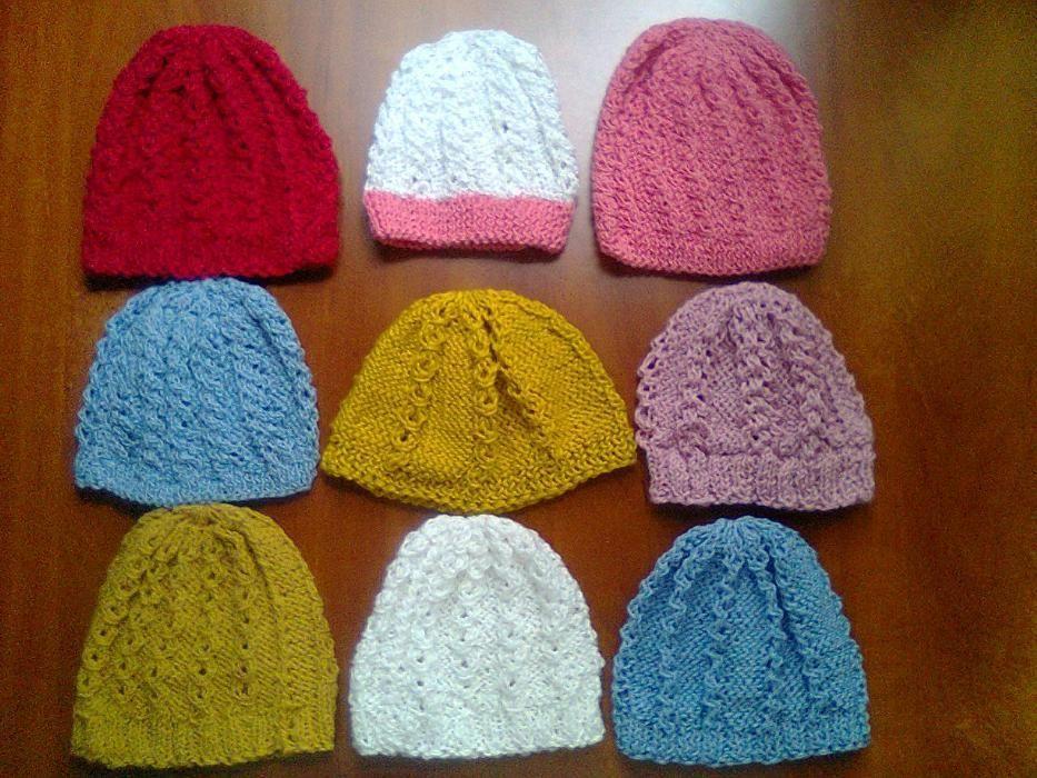 Caciulita fes copii - Protejeaza-ti copilul - tricotaj manual unic