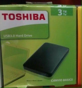 Disco externo 3Tb 3.0 Toshiba