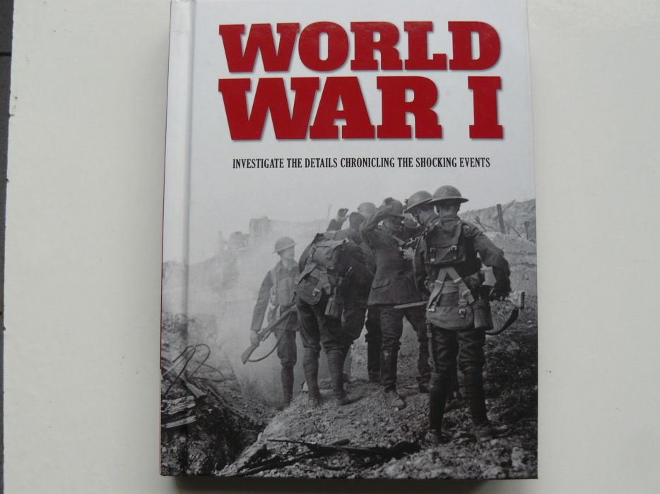"Carte ""WORLD WAR I"" o carte documentar despre Primul Razboi Mondial"