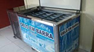 Maquina de gelo em barra a venda